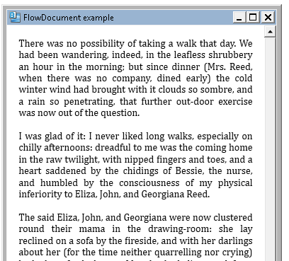 252 – FlowDocument Flows its Content Automatically | 2,000 Things