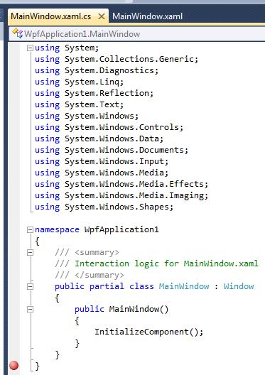 288 – Editing WPF Code-Behind in Visual Studio | 2,000 Things You