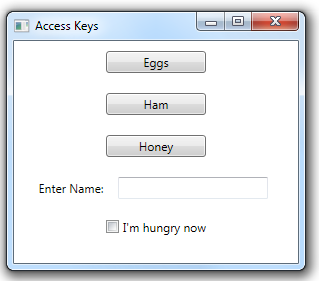 301 – Using Access Keys   2,000 Things You Should Know About WPF