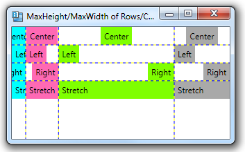 423 – Setting Maximum Height and Width for Rows and Columns