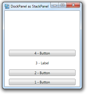 445 – DockPanel Can Be Used Like a StackPanel | 2,000 Things
