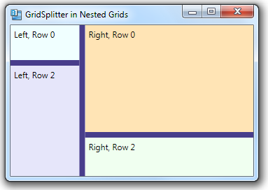 465 – Using GridSplitters with Nested Grids | 2,000 Things You