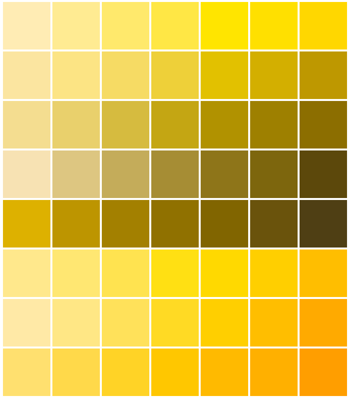 Images Of Pantone Color Chart Yellow Spacehero