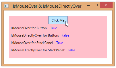 IsMouseOver | 2,000 Things You Should Know About WPF