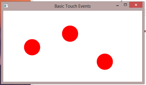 738 – Sample Code – Drawing and Moving Circles at Touch Points