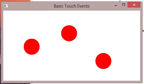 738 – Sample Code – Drawing and Moving Circles at Touch