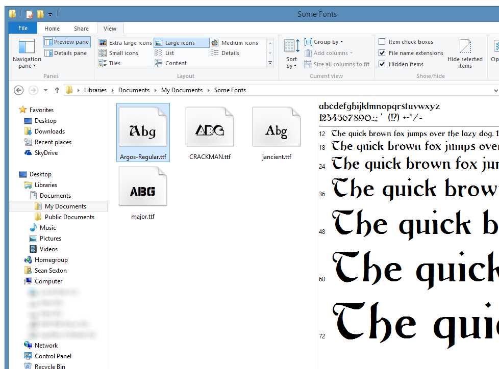 Fonts | 2,000 Things You Should Know About WPF