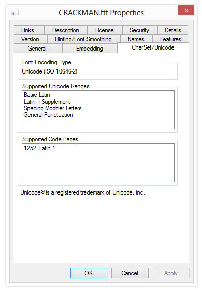 820 – Viewing Additional Font Properties in Windows Explorer | 2,000